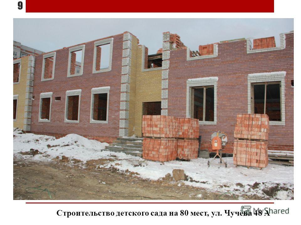 Строительство детского сада на 80 мест, ул. Чучева 48 А 9