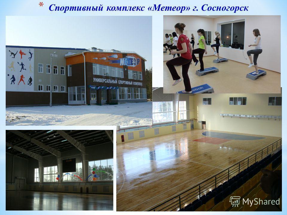 * Спортивный комплекс «Метеор» г. Сосногорск