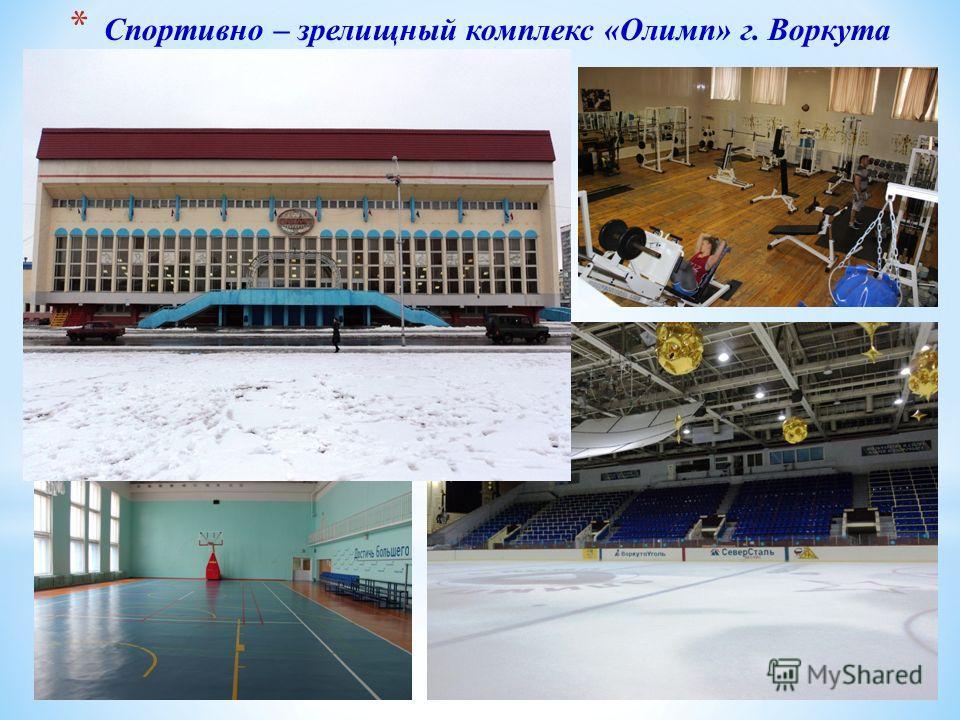 * Спортивно – зрелищный комплекс «Олимп» г. Воркута
