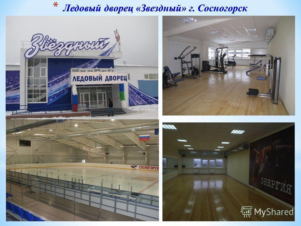 * Ледовый дворец «Звездный» г. Сосногорск
