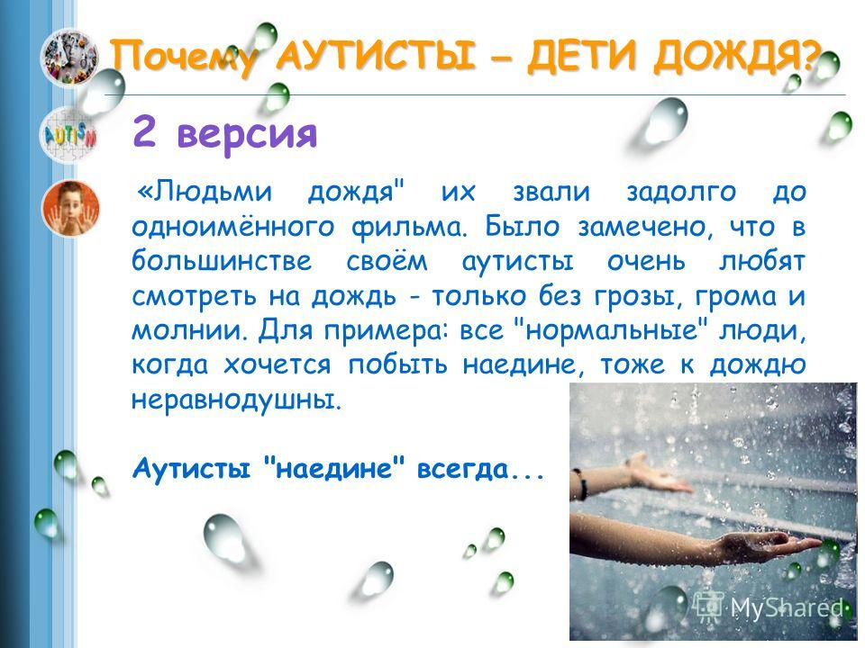 rain main essay
