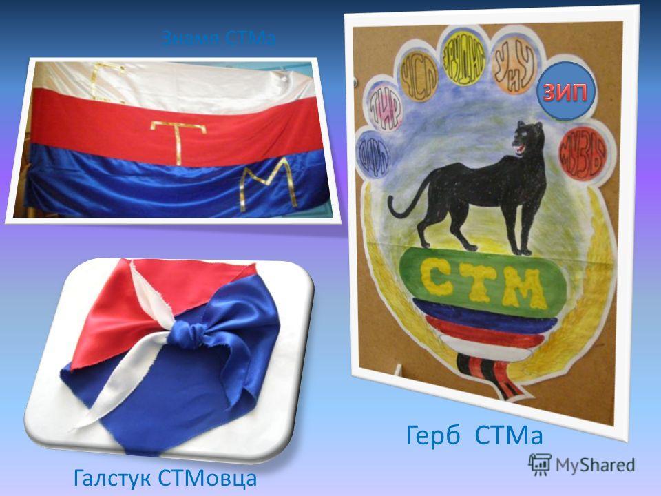 Галстук СТМовца Знамя СТМа Герб СТМа