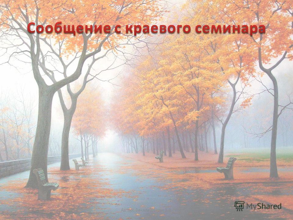 Автор: Закалашвили З.З.13