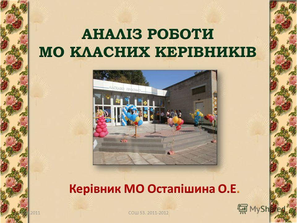 28.08.20111СОШ 53. 2011-2012