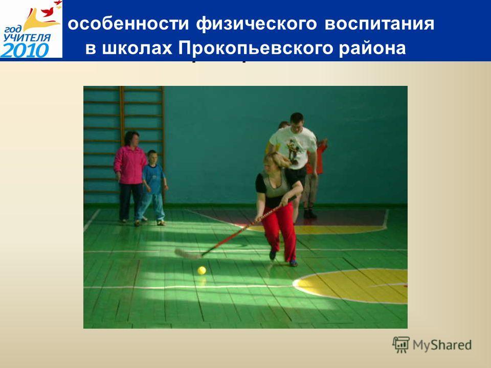 флорбол особенности физического воспитания в школах Прокопьевского района