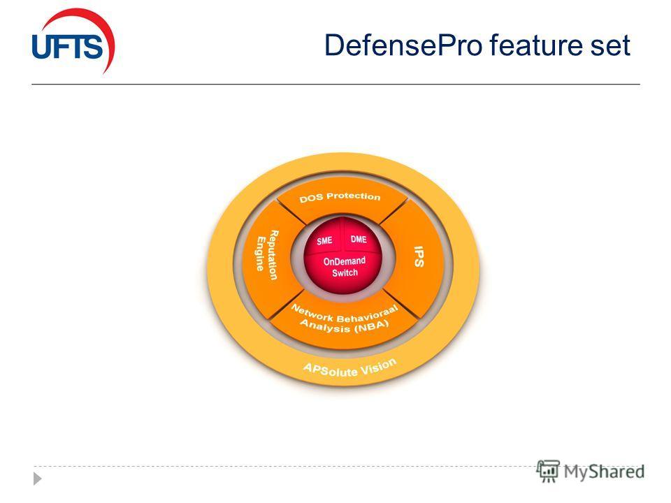 DefensePro feature set