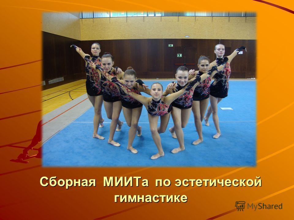 Сборная МИИТа по эстетической гимнастике
