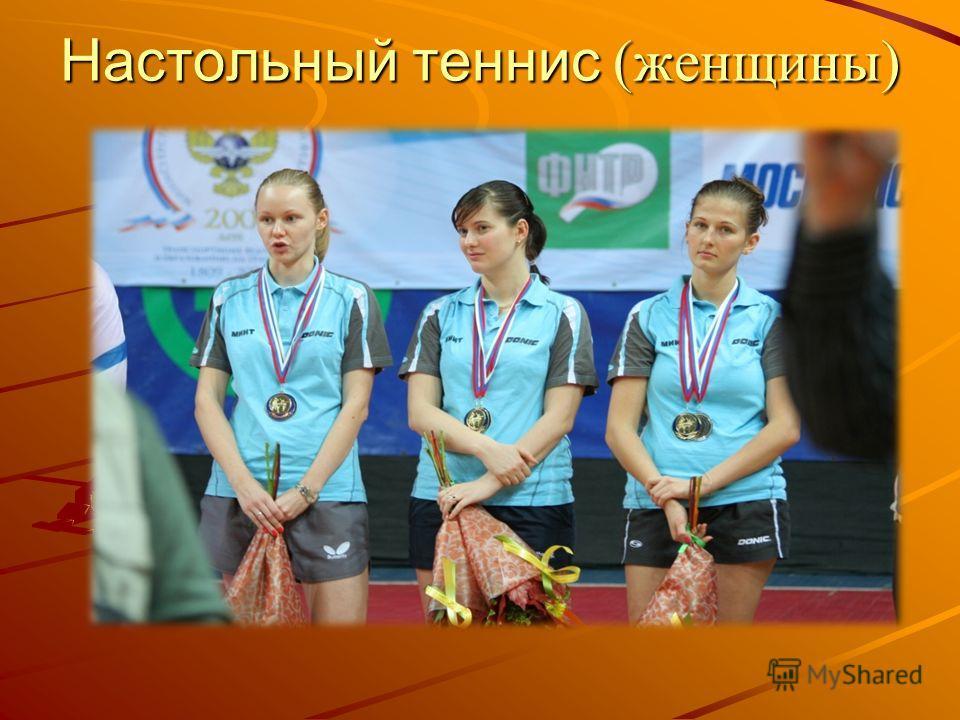 Настольный теннис (женщины)