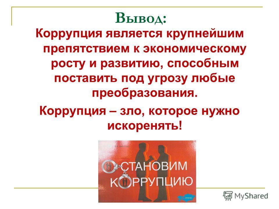 2 этап Сформулируйте не менее 3 действенных способов борьбы с коррупцией. (максимальный балл – 5)