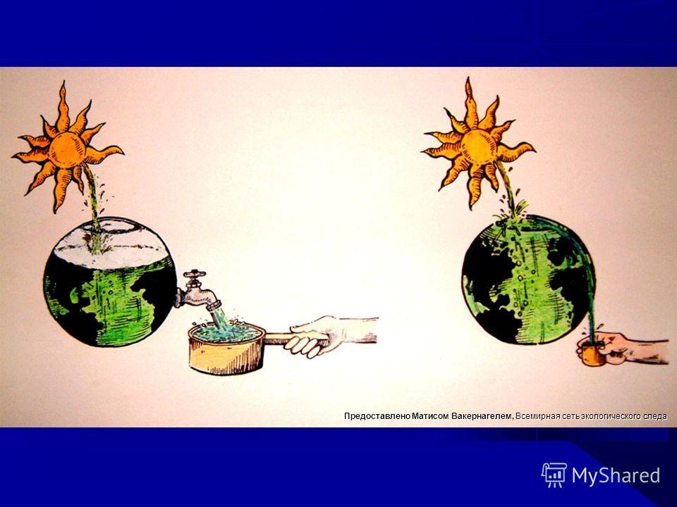 Предоставлено Матисом Вакернагелем, Всемирная сеть экологического следа