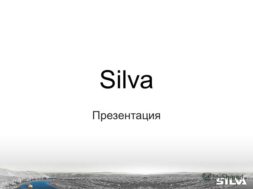 Silva Презентация