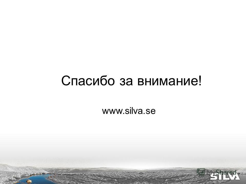 Спасибо за внимание! www.silva.se