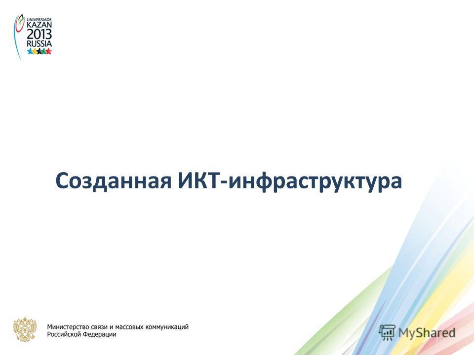 Созданная ИКТ-инфраструктура 6