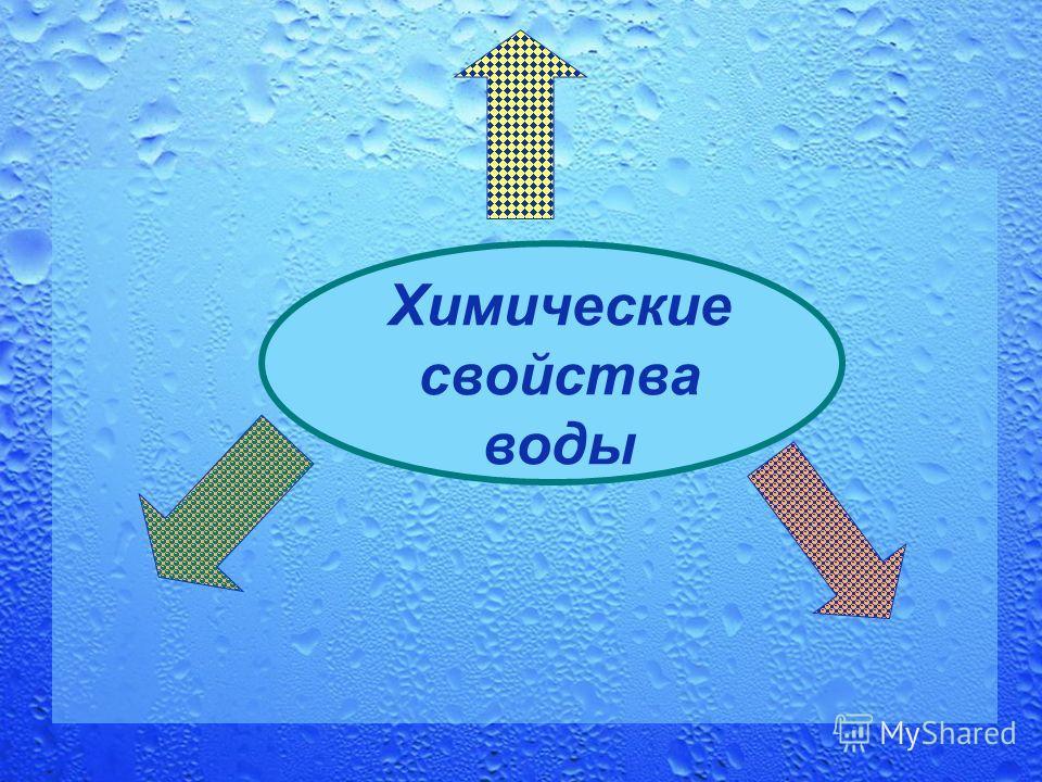 Химические свойства воды