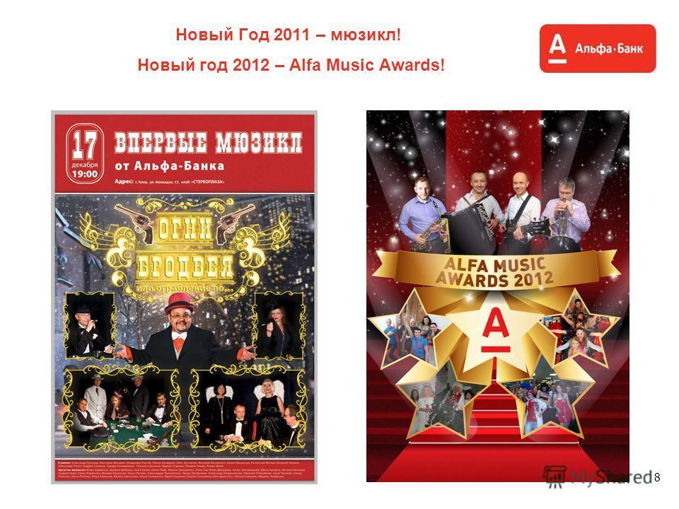 Новый Год 2011 – мюзикл! Новый год 2012 – Alfa Music Awards! 8