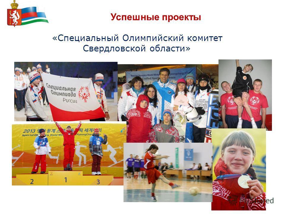 Успешные проекты «Специальный Олимпийский комитет Свердловской области»