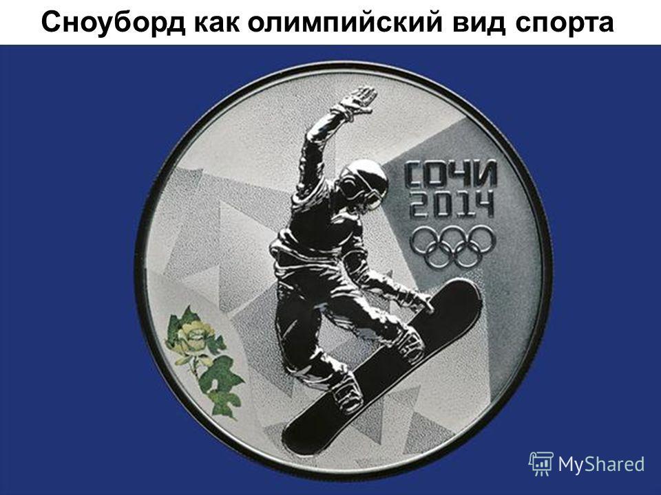 Сноуборд как олимпийский вид спорта