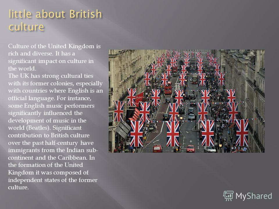 influence of british culture over the indian subcontinent