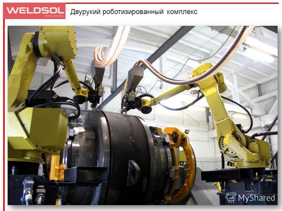 Двурукий роботизированный комплекс