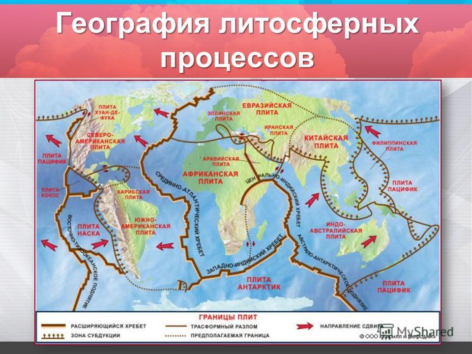 География литосферных процессов