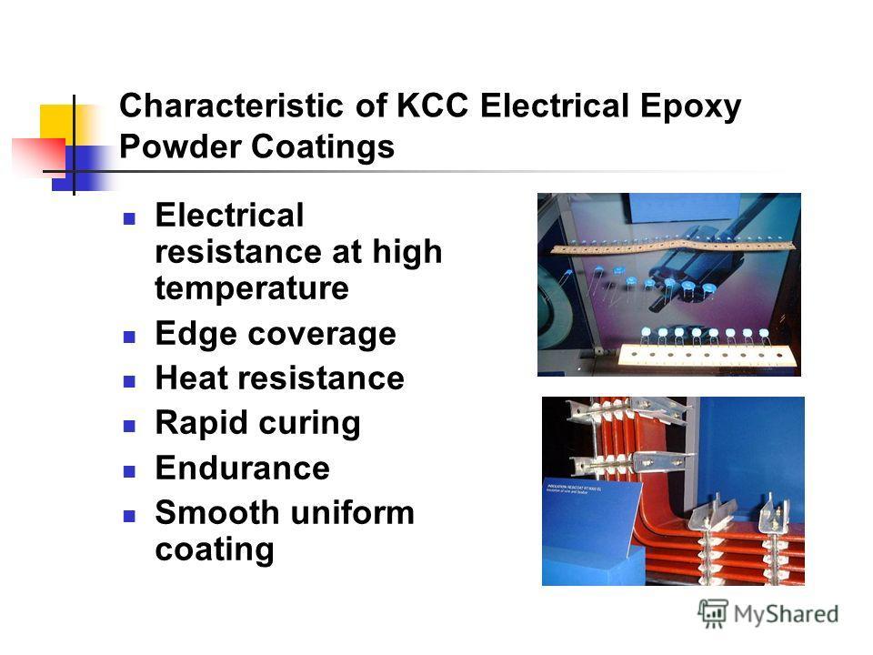 Electrical Epoxy Powder Coatings