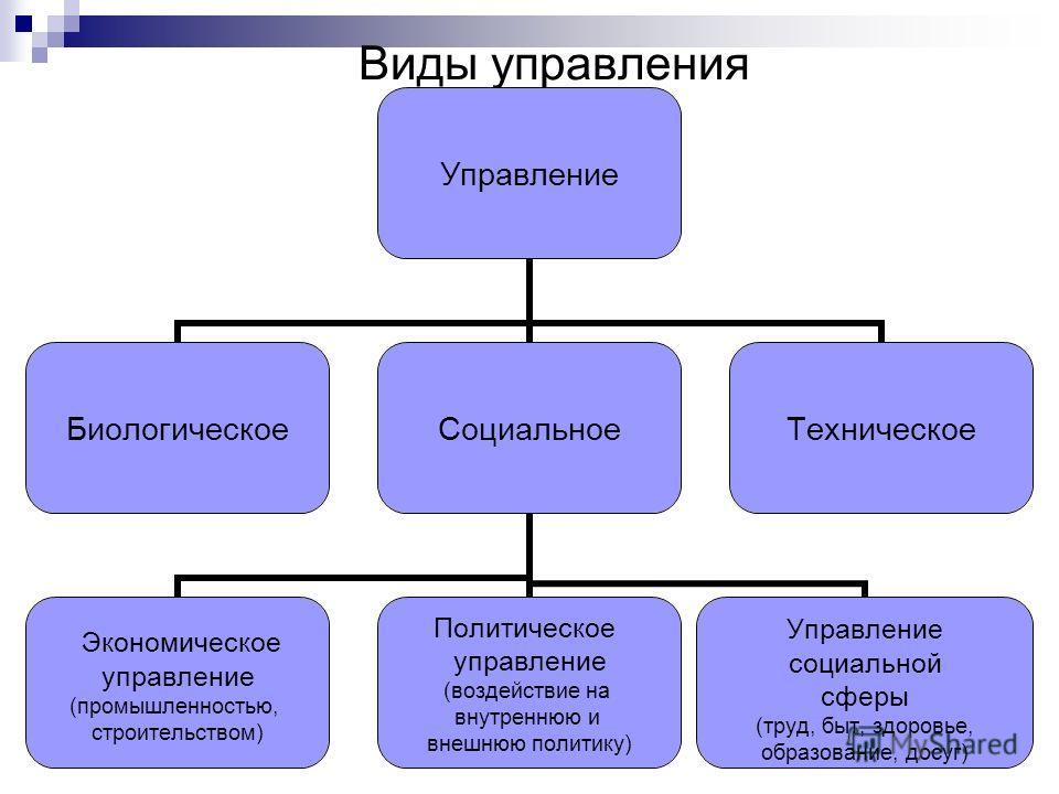 Содержание управления Cодержание управления составляет регулирование системы (общества) посредством приложения к объекту управления целенаправленных воздействий. В процессе регулирования достигается соответствие системы определенным целям. Суть регул