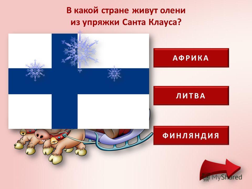 В какой стране родилась традиция класть рождественские подарки в сапожки или в носки? ИСПАНИЯ ТУРЦИЯ УКРАИНА