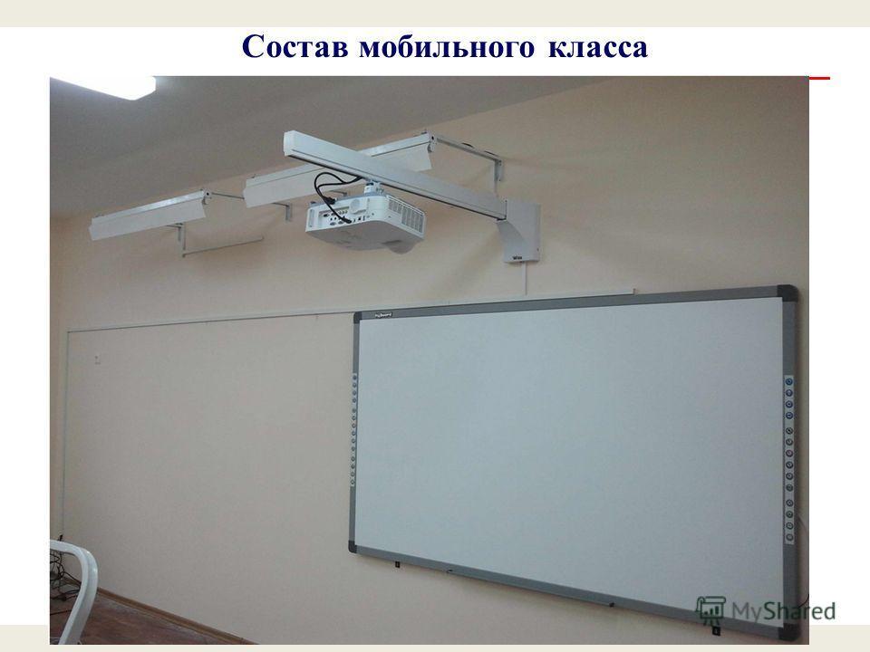 Состав мобильного класса