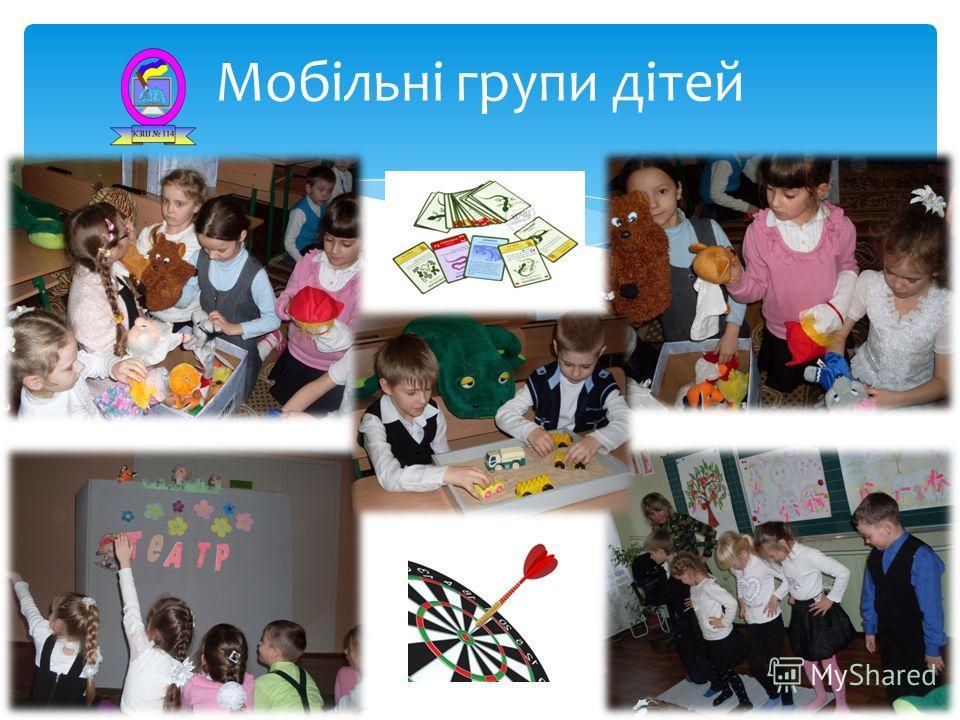Мобільні групи дітей