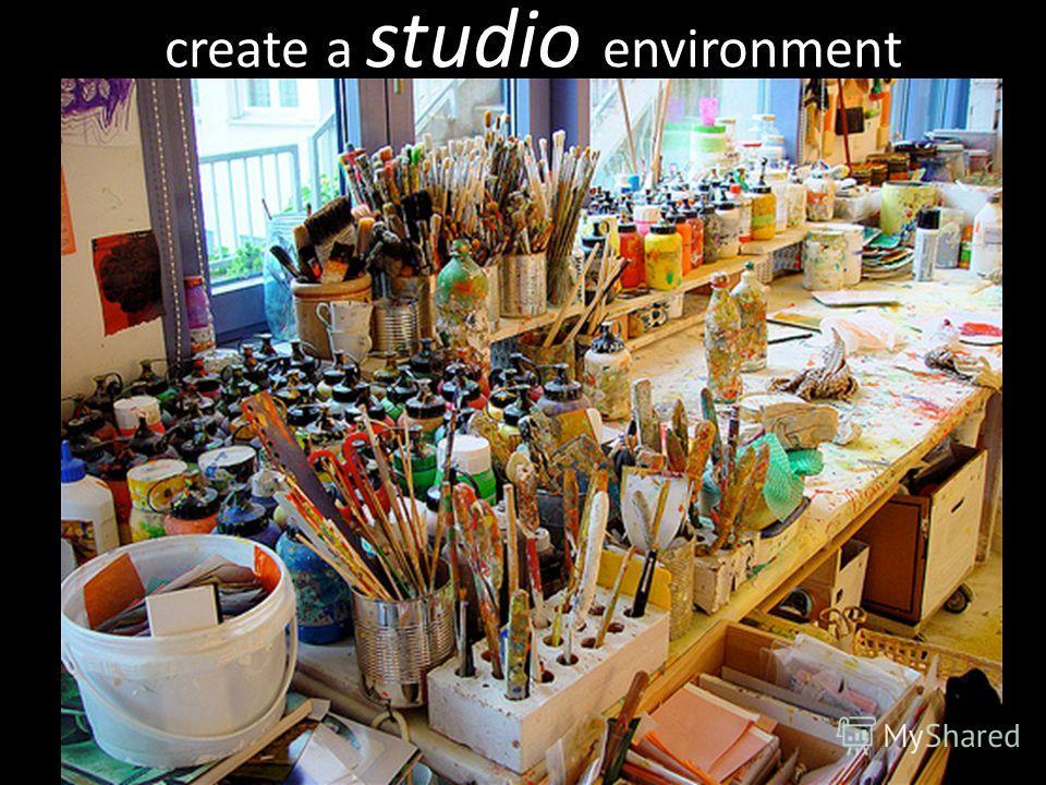 create a studio environment