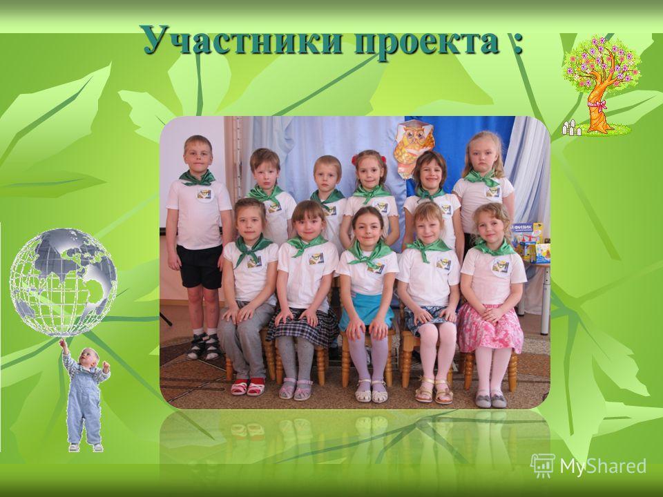 Участники проекта :