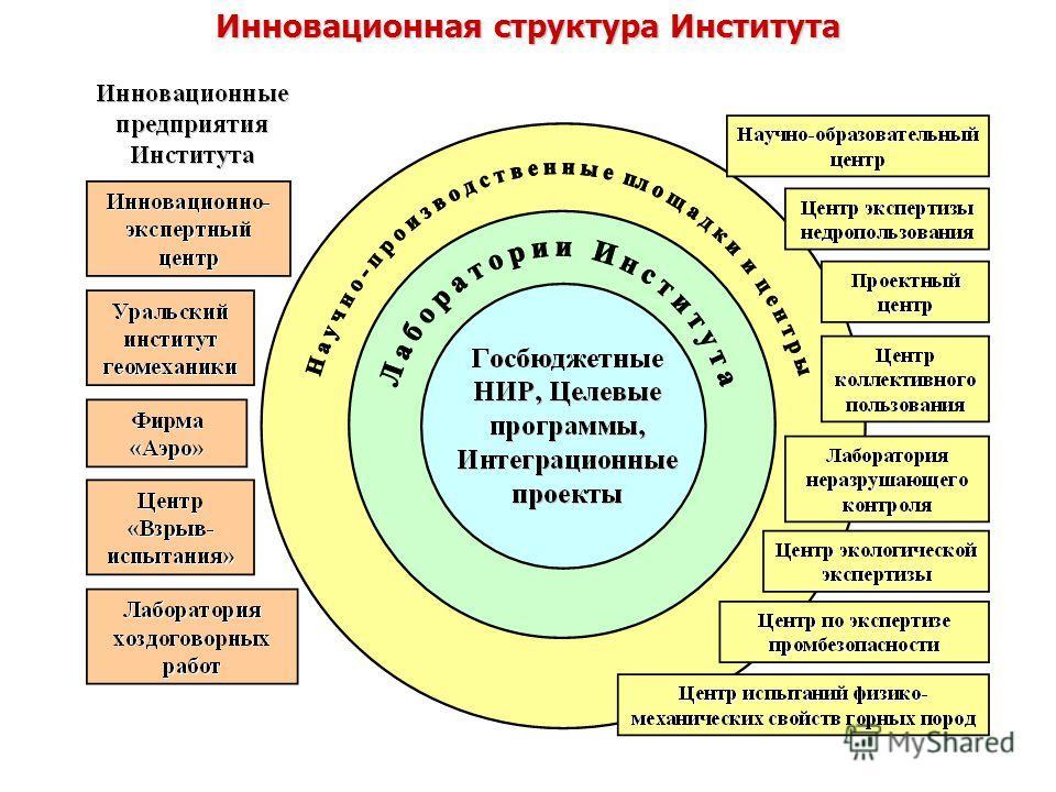 Инновационная структура Института