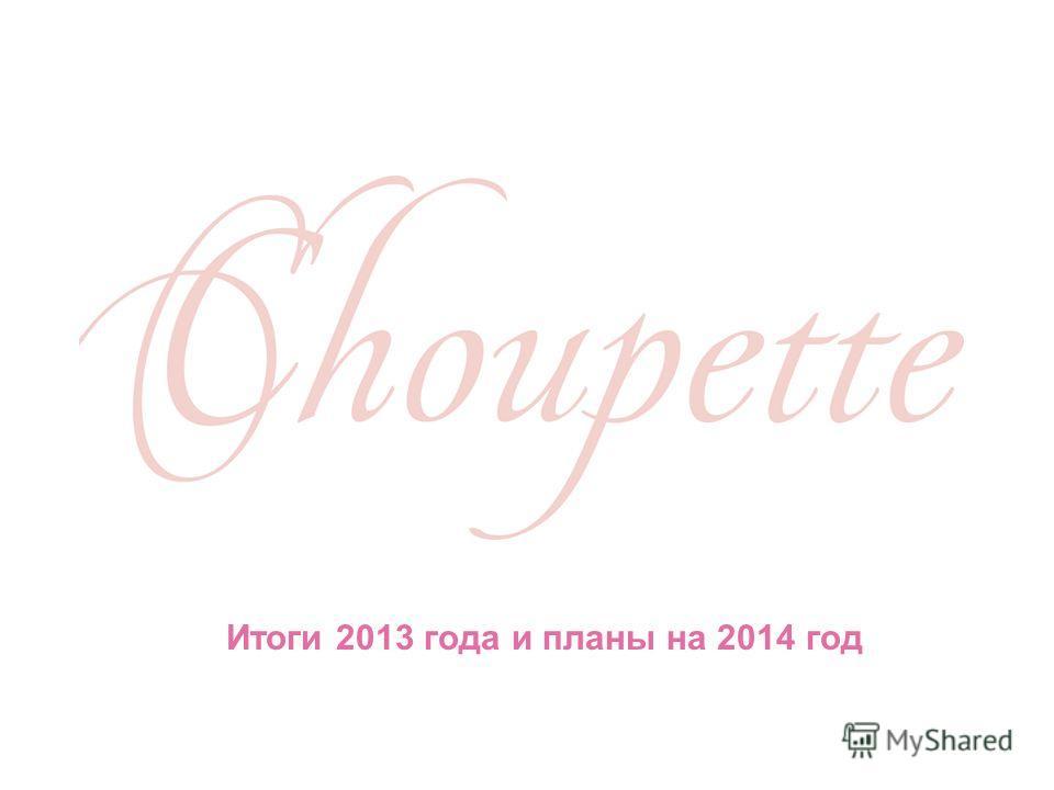 Итоги 2013 года и планы на 2014 год