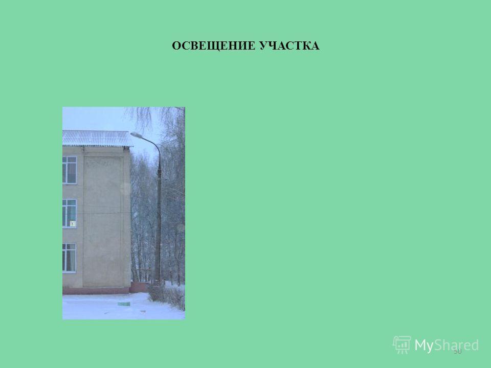 ОСВЕЩЕНИЕ УЧАСТКА 50
