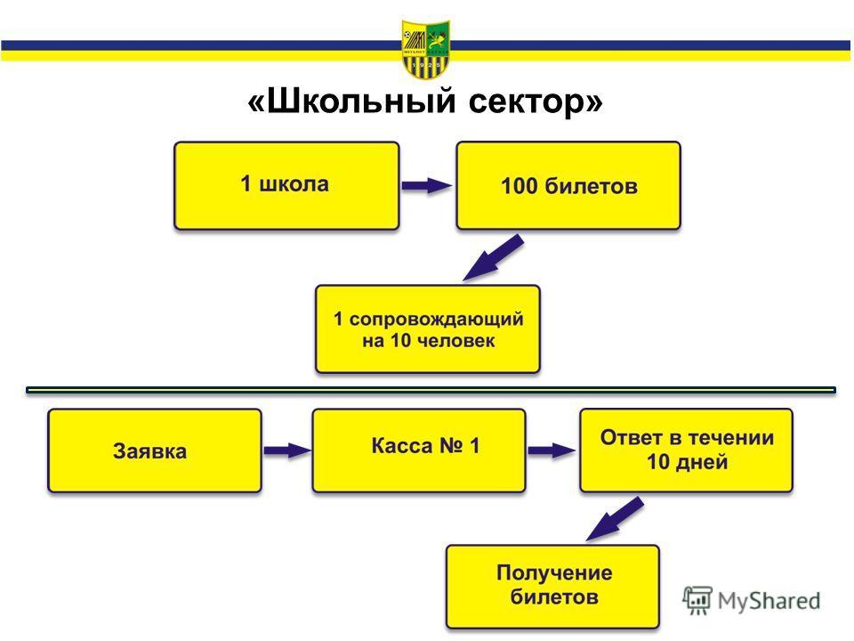 «Школьный сектор»