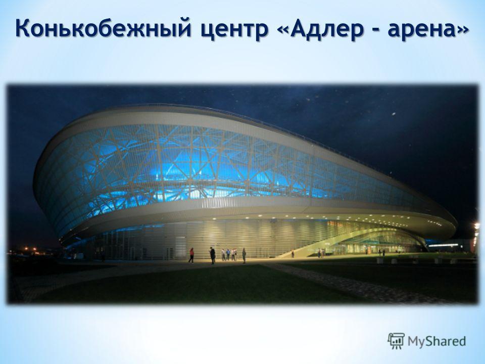Конькобежный центр «Адлер - арена»