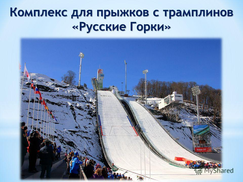 Комплекс для прыжков с трамплинов «Русские Горки»