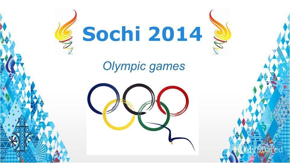 Sochi 2014 Olympic games