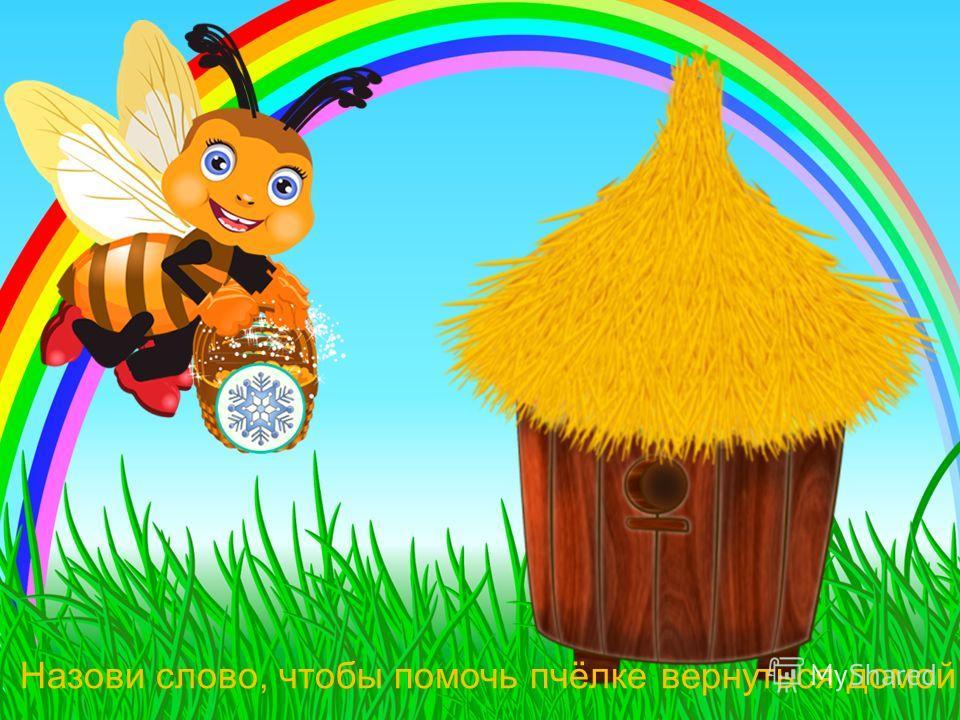 Посади каждую пчелку на свой цветок.