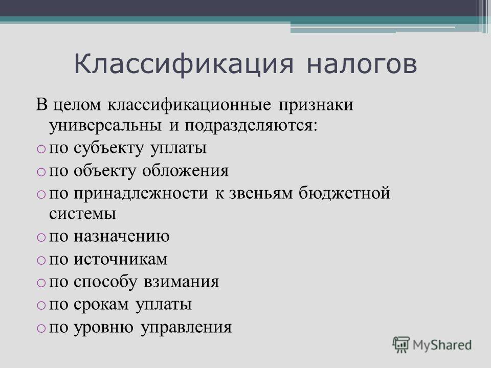 Функции Налогов Презентация