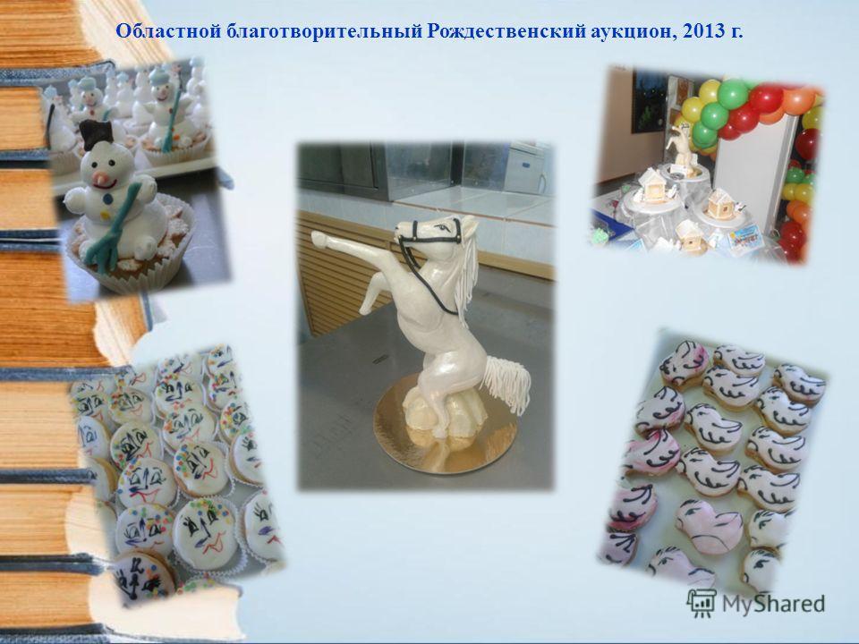 Областной благотворительный Рождественский аукцион, 2013 г.