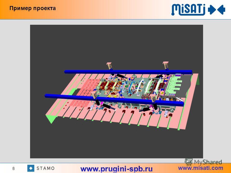 www.misati.com 8 Пример проекта
