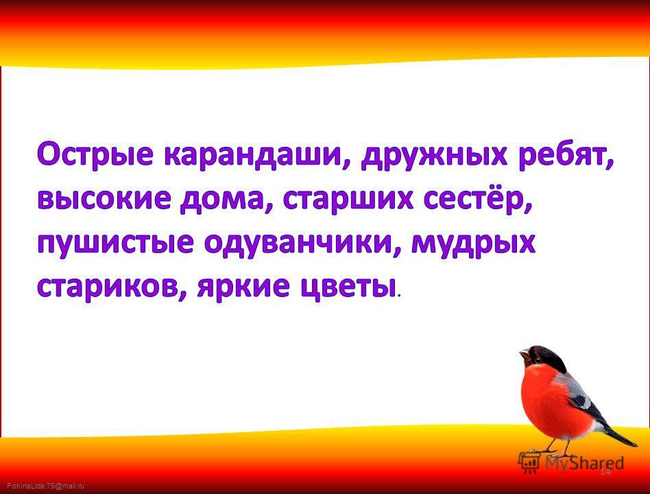 FokinaLida.75@mail.ru 14