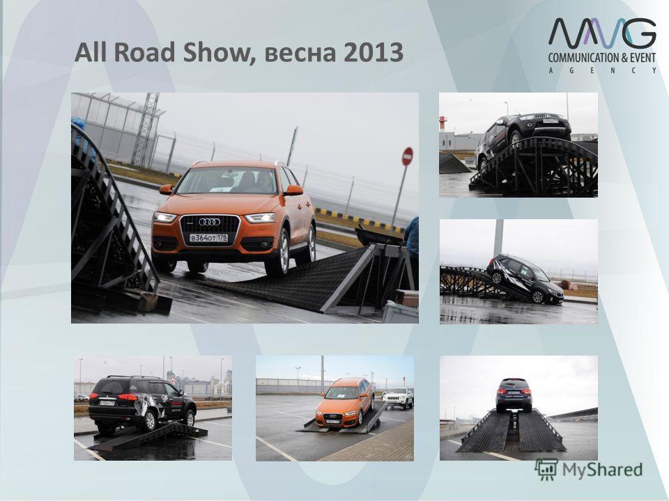 All Road Show, весна 2013