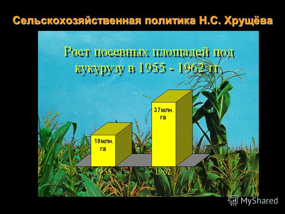 Сельскохозяйственная политика Н.С. Хрущёва
