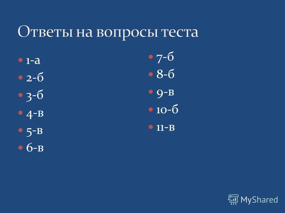 1-а 2-б 3-б 4-в 5-в 6-в 7-б 8-б 9-в 10-б 11-в