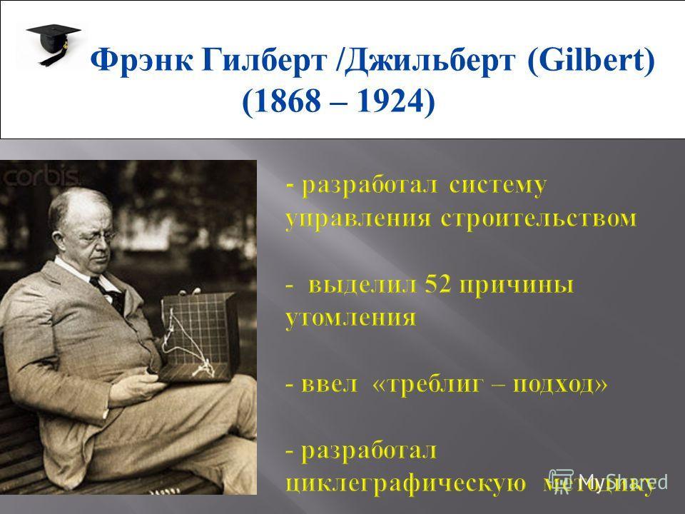 Фрэнк Гилберт /Джильберт (Gilbert) (1868 – 1924)