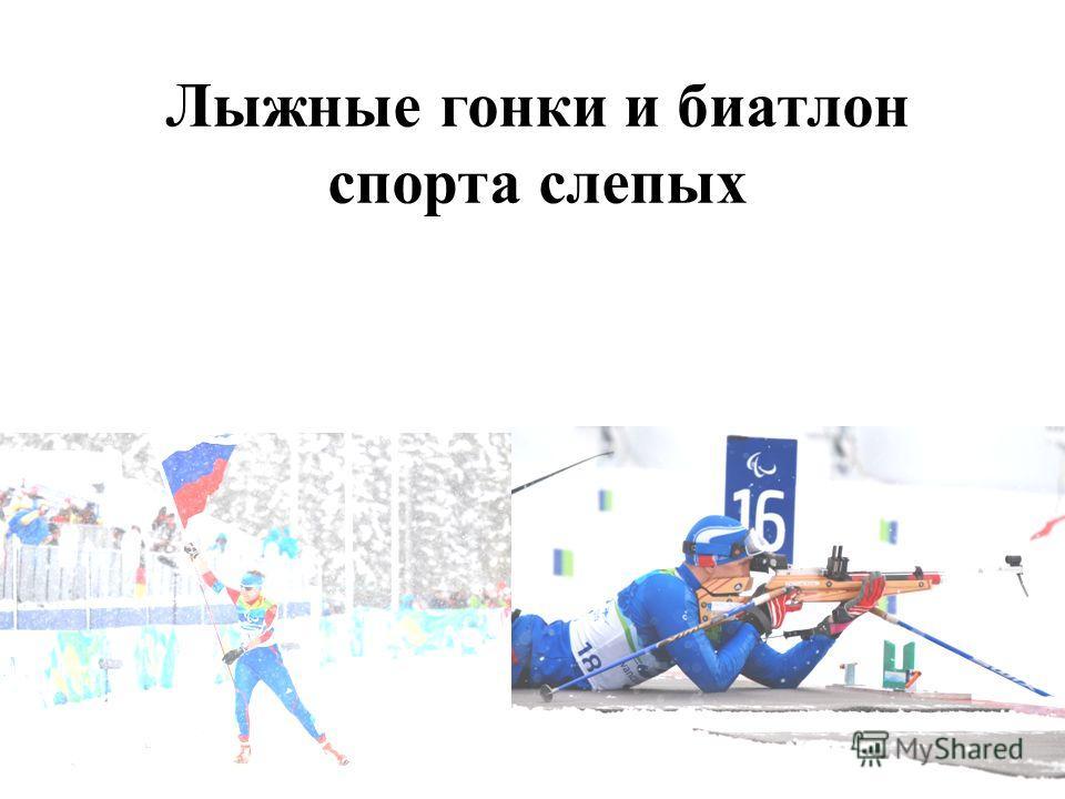 Лыжные гонки и биатлон спорта слепых
