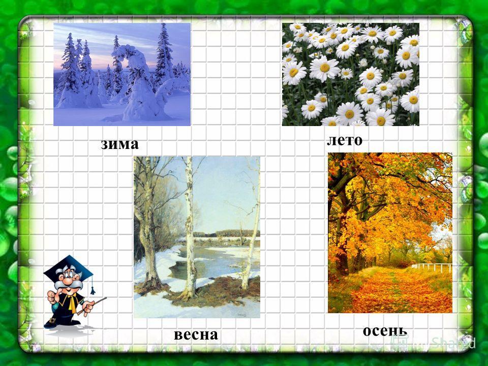 зима весна лето осень