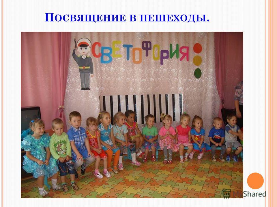 П ОСВЯЩЕНИЕ В ПЕШЕХОДЫ.